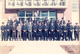 Historical Image of Group Photo of Police Officers