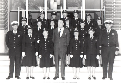 Historical Image of Female Police Officers